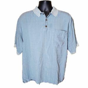 100% Silk Tommy Bahama Polo